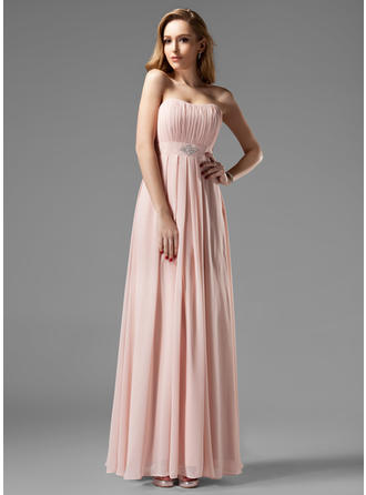 Fashion Sweetheart A-Line/Princess Sleeveless Chiffon Bridesmaid Dresses