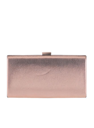 Fashion Handbags Ceremony & Party Patent Leather Clip Closure Elegant Clutches & Evening Bags