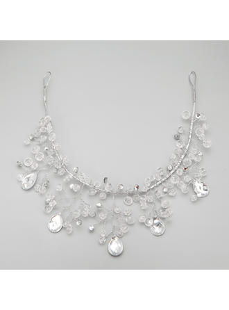 "Forehead Jewelry Wedding/Special Occasion/Party Alloy/Imitation Pearls 12.20""(Approx.31cm) 2.36""(Approx.6cm) Headpieces"