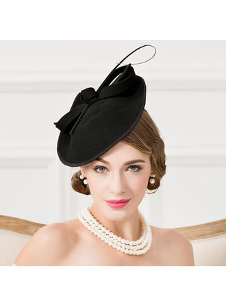 Wool With Feather Fascinators Eye-catching Ladies' Hats