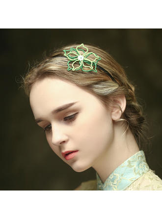 "Headbands Special Occasion/Casual/Outdoor/Party 3.35""(Approx.8.5cm) 3.35""(Approx.8.5cm) Simple Headpieces"