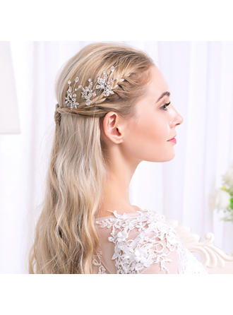 "Hairpins Wedding Rhinestone/Alloy 4.33""(Approx.11cm) 1.42""(Approx.3.6cm) Headpieces"