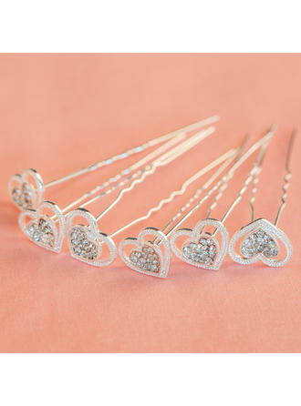 "Hairpins Wedding/Special Occasion/Party Rhinestone/Alloy 2.36""(Approx.6cm) 0.47""(Approx.1.2cm) Headpieces"
