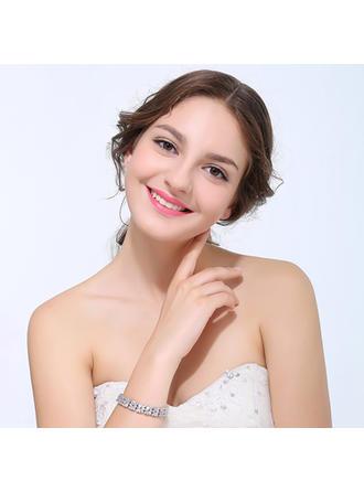 "Bracelets Zircon Ladies' Exquisite 7.87""(Approx.20cm) Wedding & Party Jewelry"