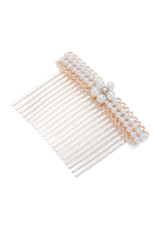 "Combs & Barrettes Wedding/Special Occasion/Party Alloy/Imitation Pearls 3.15""(Approx.8cm) 2.56""(Approx.6.5cm) Headpieces"