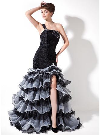 prom dresses with leg slit