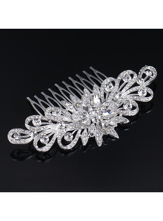 "Combs & Barrettes Wedding/Special Occasion Rhinestone/Alloy 4.33""(Approx.11cm) 2.36""(Approx.6cm) Headpieces"