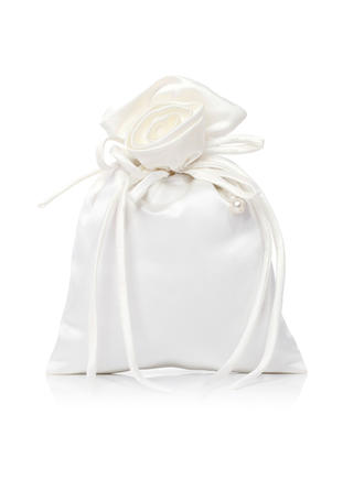 Bridal Purse Wedding Satin Tether closure Gorgeous Clutches & Evening Bags