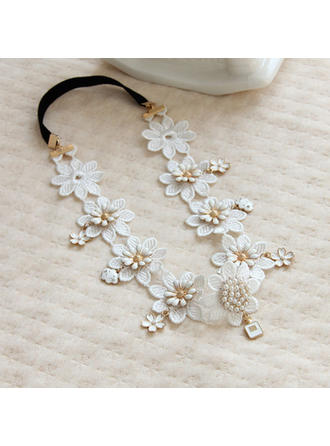 "Headbands Wedding/Special Occasion/Casual Alloy/Lace 15.75""(Approx.40cm) 1.38""(Approx.3.5cm) Headpieces"