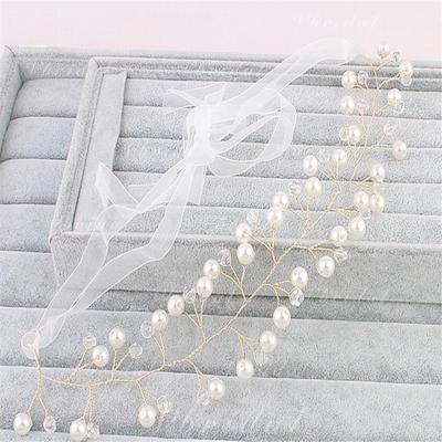 Красивая Перлы ложный ободки (Продается в виде единой детали) (042137954)