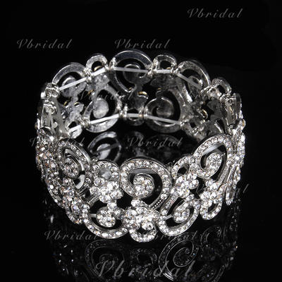"Pulseras Aleación/Diamantes de imitación Señoras' Moda 7.48""(Aprox.19cm) Joyas de boda & fiesta (011107496)"