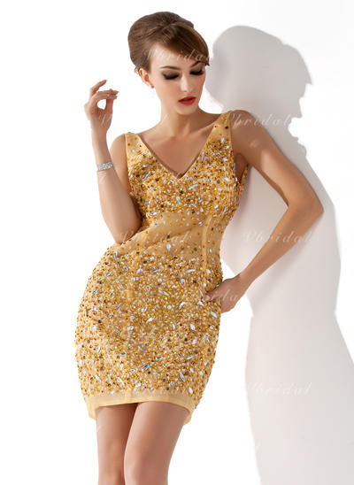 Sexi Vestido tubo Tul Baile de promoción (016008356)