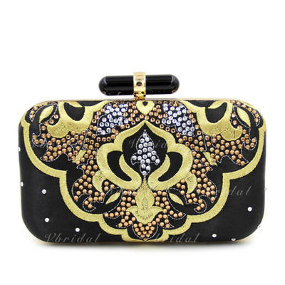 """Clutches Wedding/Ceremony & Party Crystal/ Rhinestone Elegant 7.87""""(Approx.20cm) Clutches & Evening Bags (012188112)"""