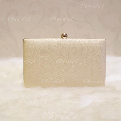 """Clutches Wedding/Ceremony & Party/Casual & Shopping/Office & Career PU Elegant 7.87""""(Approx.20cm) Clutches & Evening Bags (012188064)"""