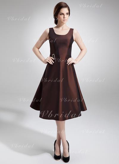 развальцовка Круглый Magnificent Тафта Платья для матери невесты (008005978)