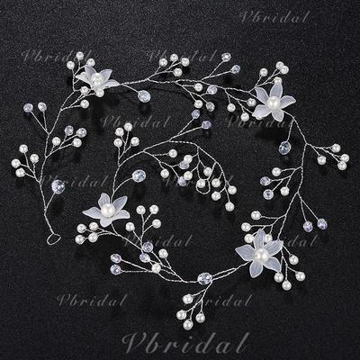 Diademas Boda Aleación/La perla de faux Moda (Se venden en una sola pieza) Cintillos (042131428)