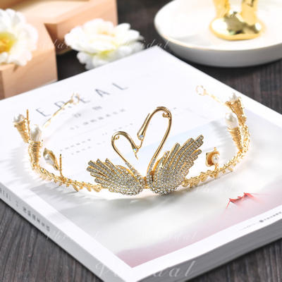 """Tiaras Wedding/Special Occasion/Casual/Outdoor/Party/Carnival/Art photography Crystal 5.90""""(Approx.15cm) Beautiful Headpieces (042159463)"""