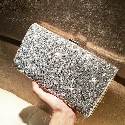 Luminoso Cristal / Diamante/Brillo Chispeante Bolso Claqué/Bolsos de Moda (012103352)