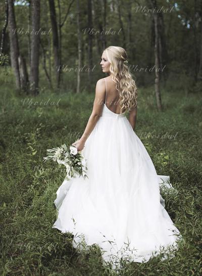 Трапеция/Принцесса - Органза Свадебные платья (002144937)