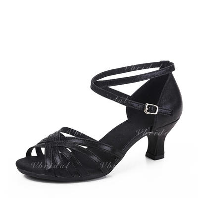 De mujer Danza latina Cuero Zapatos de danza (053130668)