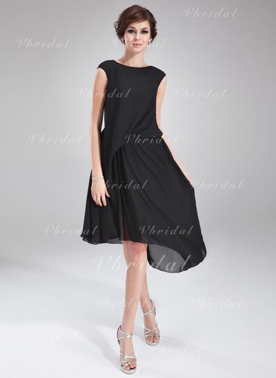Aライン/プリンセスライン2 Fashion シフォン General Plus カクテルドレス (016021163)