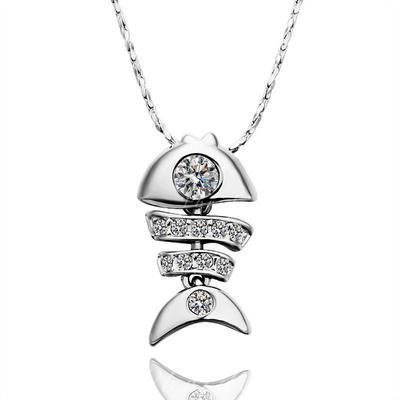 Collares Aleación/Diamantes de imitación Corchete de la langosta Señoras' Precioso Joyas de boda & fiesta (011059668)