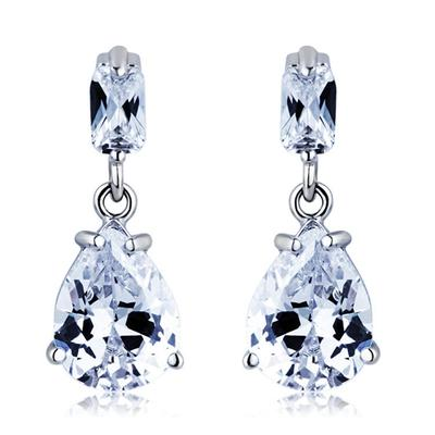 Earrings Alloy/Cubic Zirconia Pierced Ladies' Nice Wedding & Party Jewelry (011162844)