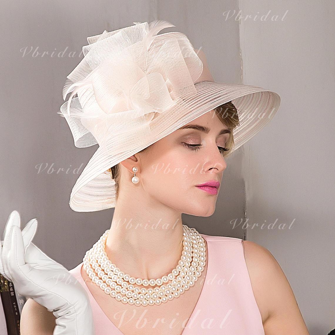 f8944bf8d34 Cambric Bowler Cloche Hat Beautiful Ladies  Hats (196194588) - mvbridal