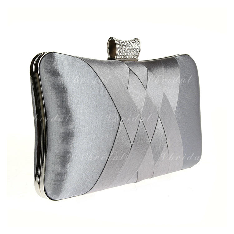 717d9bfe56 Clutches Wristlets Satchel Bridal Purse Fashion Handbags Makeup Bags Luxury Clutches  Wedding Ceremony   Party Casual   Shopping Office   Career Satin Snap ...