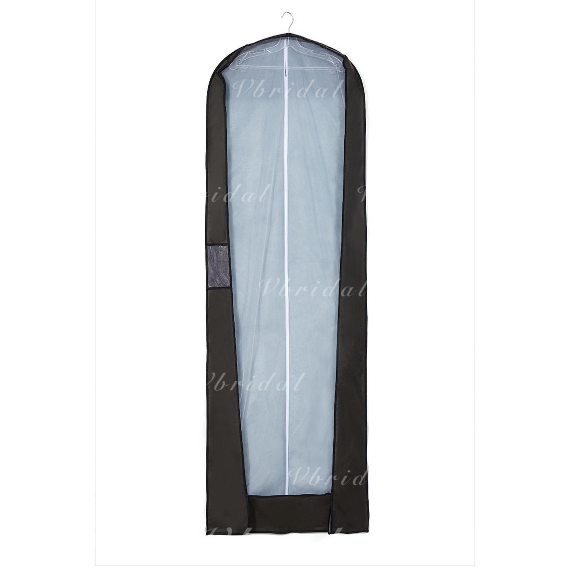 Garment Bags Gown Length Side Zip Nonwoven Fabric Gray Wedding ...
