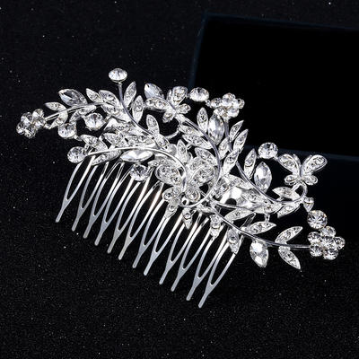 "Combs & Barrettes Alloy 4.53""(Approx.11.5cm) 2.36""(Approx.6cm) Rhinestone Headpieces (042159162)"