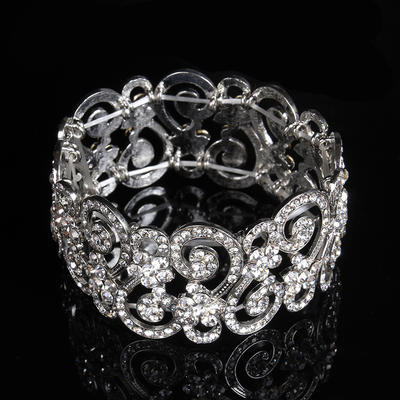 "Bracelets Alloy/Rhinestones Ladies' Fashional 7.48""(Approx.19cm) Wedding & Party Jewelry (011167381)"