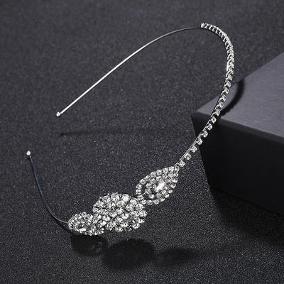 "Tiaras/Headbands Wedding/Special Occasion/Party Alloy 4.53""(Approx.11.5cm) 0.98""(Approx.2.5cm) Headpieces (042156903)"