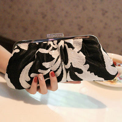 Clutches/Satchel Wedding/Ceremony & Party PU Elegant Clutches & Evening Bags (012187226)
