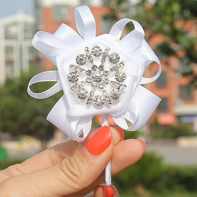 """Boutonniere Free-Form Wedding/Party Satin 2.76""""(Approx.7cm) Wedding Flowers (123190140)"""
