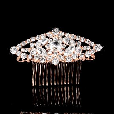 "Combs & Barrettes Wedding/Special Occasion/Party/Carnival Rhinestone/Alloy 3.58""(Approx.9.1cm) 2.37""(Approx.6cm) Headpieces (042158276)"