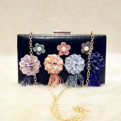 "Clutches Wedding/Ceremony & Party PU Charming 7.87""(Approx.20cm) Clutches & Evening Bags (012187154)"