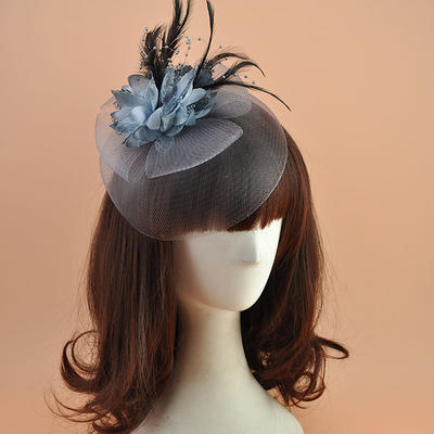 Polyester With Feather Fascinators Elegant Ladies' Hats (196194882)