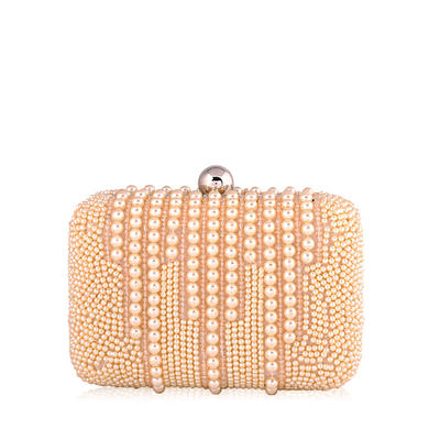 """Clutches Wedding/Ceremony & Party Pearl Attractive 5.51""""(Approx.14cm) Clutches & Evening Bags (012185650)"""