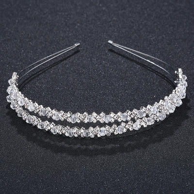 "Tiaras Wedding/Special Occasion/Party Crystal 0.67""(Approx.1.7cm) Unique Headpieces (042156565)"