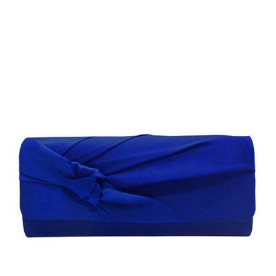 Handtaschen/Luxus Handtaschen Hochzeit/Zeremonie & Party/Lässige & Einkaufen/Büro & Karriere Satin Schnippen Verschluss Elegant Clutches & Abendtaschen (012187815)