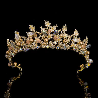 "Tiaras Wedding/Special Occasion/Party Rhinestone 14.57 ""(Approx.37cm) 1.97""(Approx.5cm) Headpieces (042158379)"