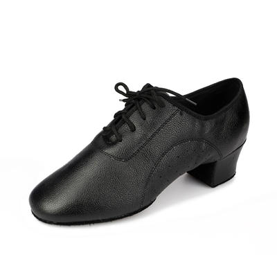 Men's Practice Heels Pumps Real Leather Dance Shoes (053178840)