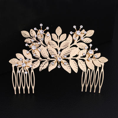 "Combs & Barrettes Wedding/Special Occasion Rhinestone/Alloy 4.53""(Approx.11.5cm) 3.07""(Approx.7.8cm) Headpieces (042158787)"