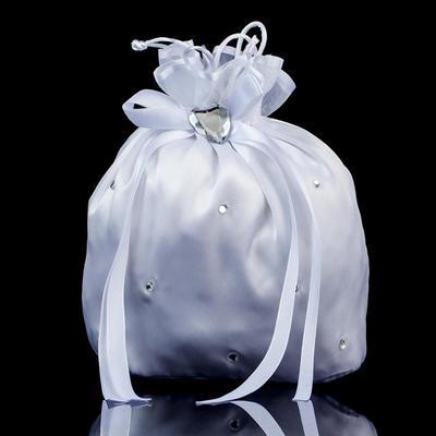 Braut Geld-Beutel Hochzeit/Zeremonie & Party Satin/Kristall / Strass Halteseil Verschluss Anhänger Clutches & Abendtaschen (012186063)