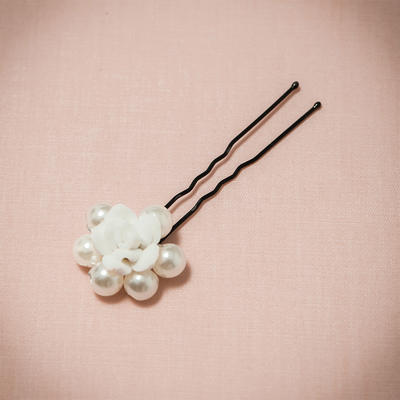 "Hairpins Wedding/Special Occasion/Party Imitation Pearls/Polymer Clay 2.76""(Approx.7cm) 1.18""(Approx.3cm) Headpieces (042154779)"