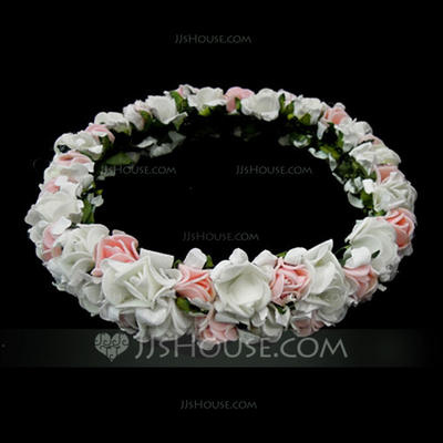 """Flower Girl's Headwear Wedding Net Yarn 5.51""""(Approx.14cm) Lovely Headpieces (042152999)"""