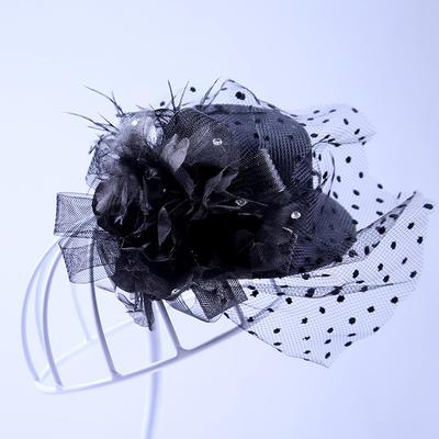Tulle Fascinators Elegant Hats (196194925)