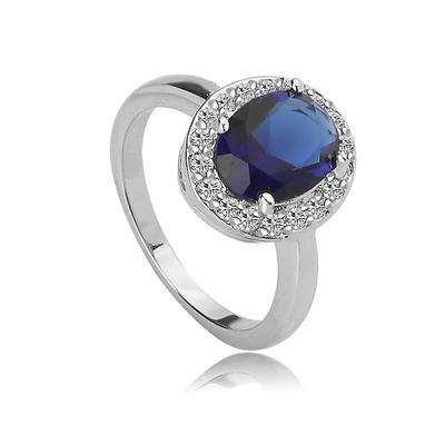 Rings Copper/Zircon/Platinum Plated Ladies' Romantic Wedding & Party Jewelry (011165594)