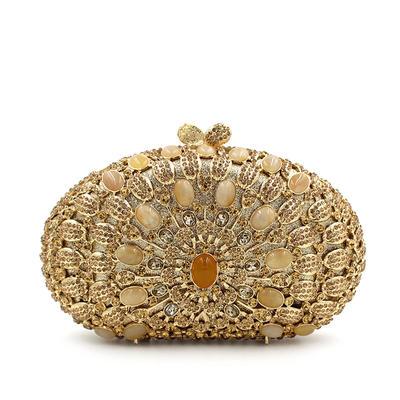 """Handtaschen/Luxus Handtaschen Hochzeit/Zeremonie & Party Kristall / Strass Prächtig 7.48""""(Ungefähre 19cm) Clutches & Abendtaschen (012186942)"""